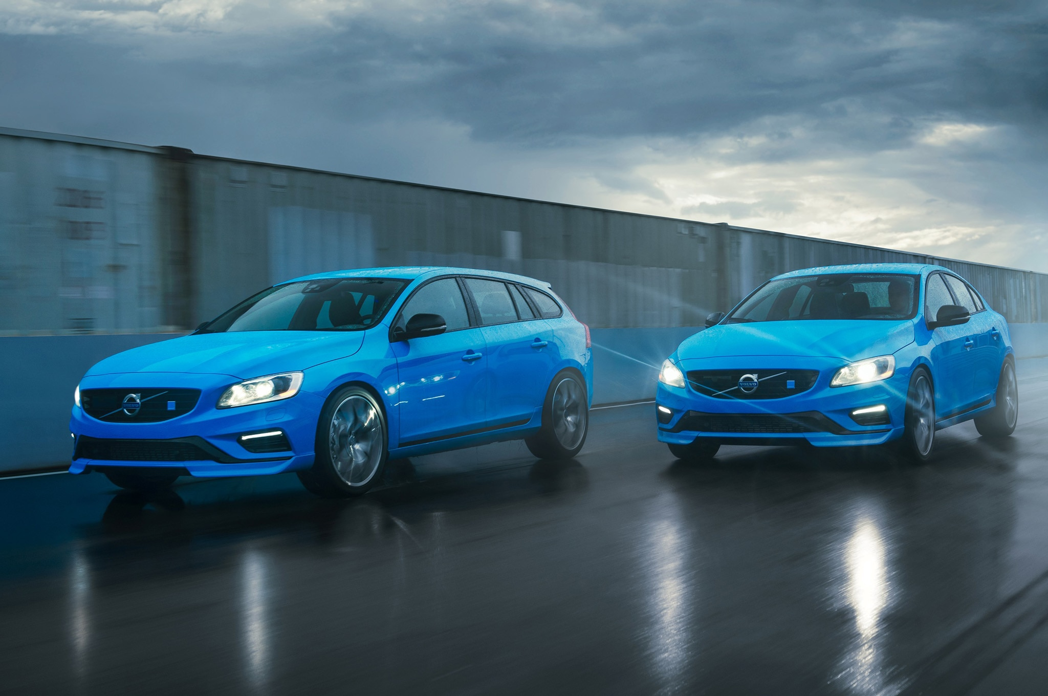 Polestar S60 And V60 Front Three Quarters1